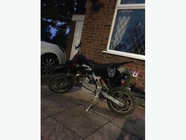 mini scram 50cc pitbike