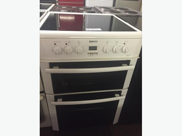 60 CM WIDE BEKO ELECTRIC COOKER WITH GUARANTEE