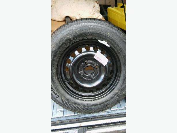 new 14 inch spare wheel for vauxhall corsa