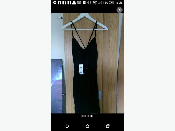*New with tag* Miss Selfridge. Little black dress  size 8