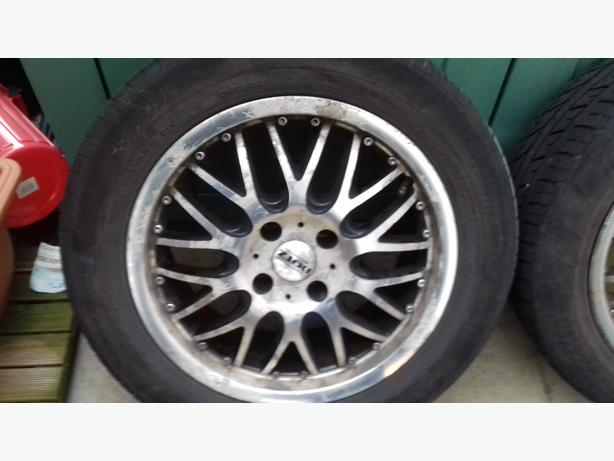 "Dotz 16"" Alloys to fit Citroen and pug"