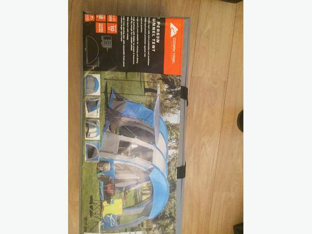 brand new top of the range 4 man tent retails at £189