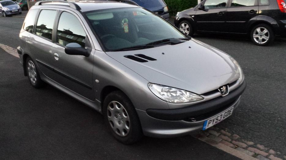 peugeot 206 sw hdi diesel sandwell dudley. Black Bedroom Furniture Sets. Home Design Ideas