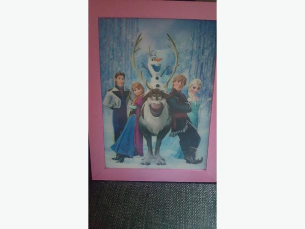 3D frozen picture franed