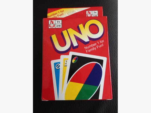 uno cards NEW