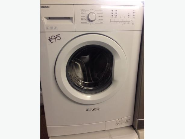 BEKO WASHING MACHINE 6KG WHITE