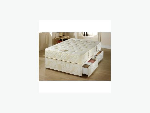 SUPER GOLD DOUBLE ORTHOPAEDIC BED