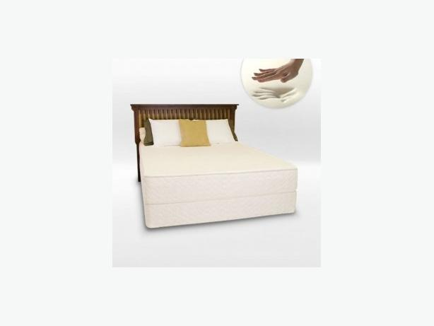 MEMORY VISCO FOAM DOUBLE ORTHO BEDCONPLETE