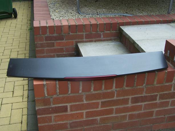 ford focus mk2 rear tail gate spoiler