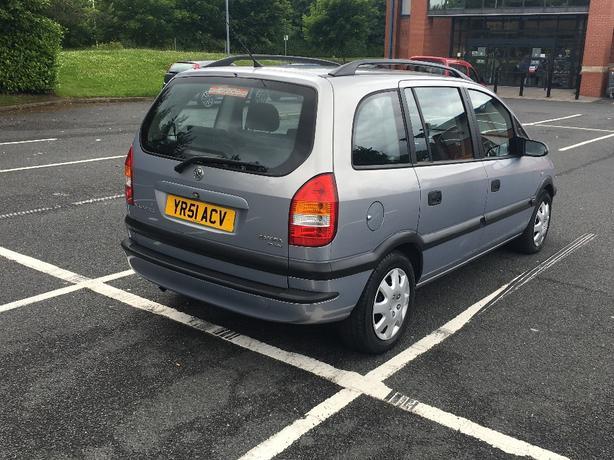 Vauxhall zafira 1.6 108k