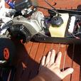 two stroke rc car 39cc fully working