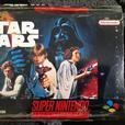Super Nintendo game: star wars