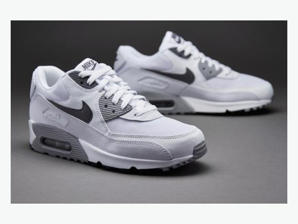 MENS NIKE AIR MAX 90s TRAINERS. SIZE 11. BNIB. WHITE/GREY