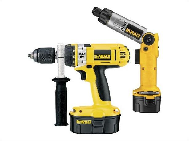dewalt xrp cordless 18 volt drill & screw driver set