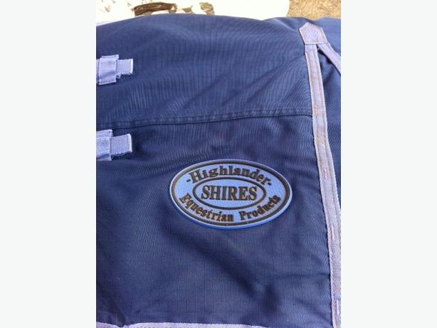 Horse rugs and saddle pads