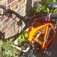 orange dimondback high spec bike