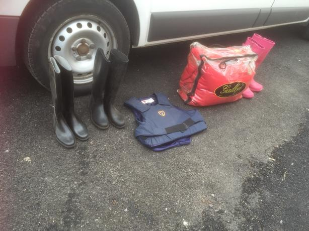 job lot of equestrian items