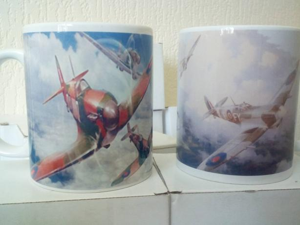 Novelty Spitfire Mugs WW2