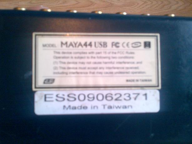 External sound card for sale  £40 MAYA44 USB