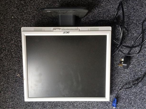 Acer AL1707 PC /cctv monitor