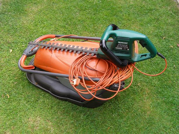 Flymo 330 + Qualcast Hedge Trimmer