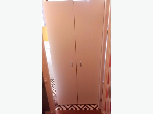 wardrobe and bedside