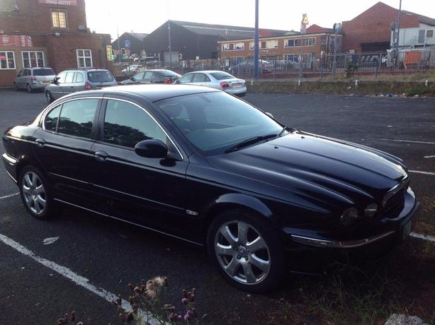 jaguar x type 2005 2ltr diesel long mot welcome px