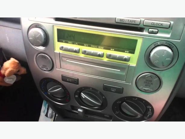 mazda 2 2005 cd player