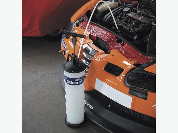 snap on Vacuum Oil & Fluid Extractor Manual/Air 9ltr