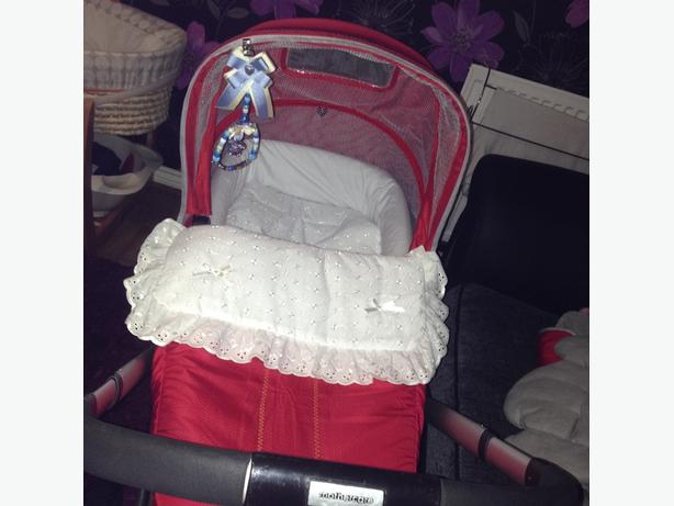 my 3 mother care pushchair