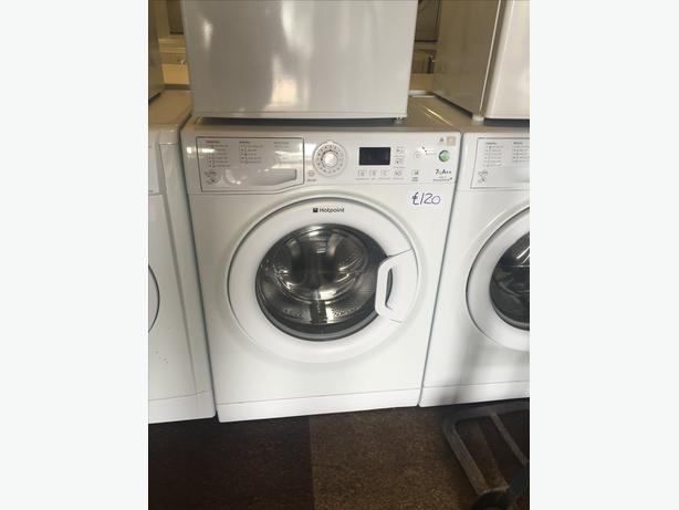 HOTPOINT 7 KG LOAD WASHING MACHINE WITH GUARANTEE