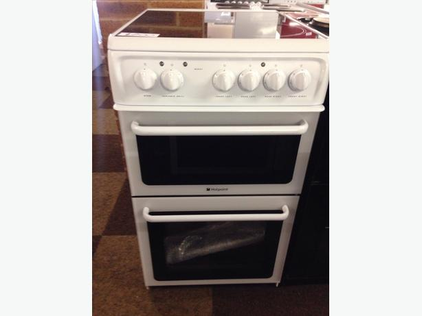 BRAND NEW HOTPOINT 50CM ELECTRIC COOKER