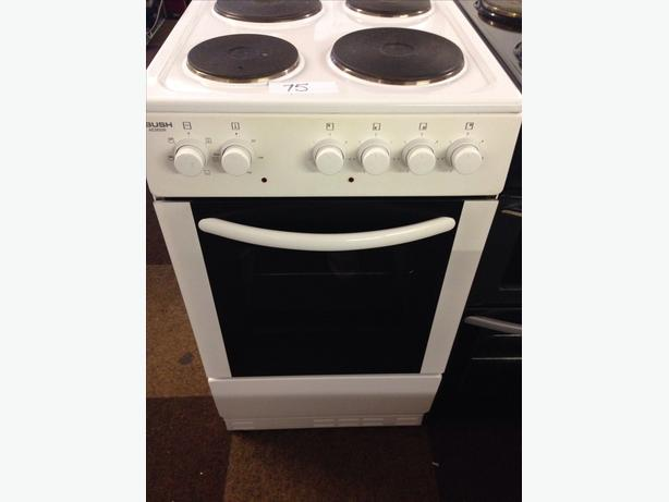 BUSH ELECTRIC COOKER PLATED 50CM