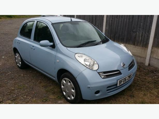 Nissan Micra 1.2 5 Door 2006 Blue