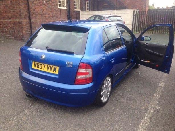 skoda fabia vrs ltd blue 988 of 1000 £3000 no offers