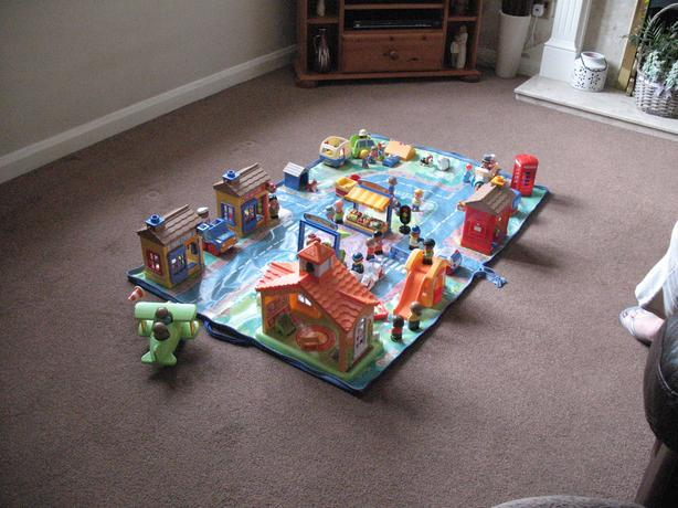Happy land playmat and sets from ELC