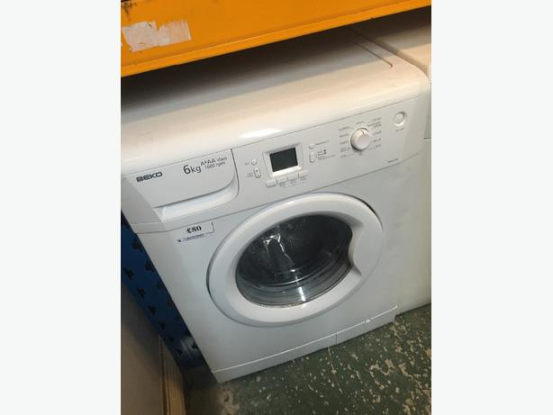 🔎🔎beko 6kg washer free delivery