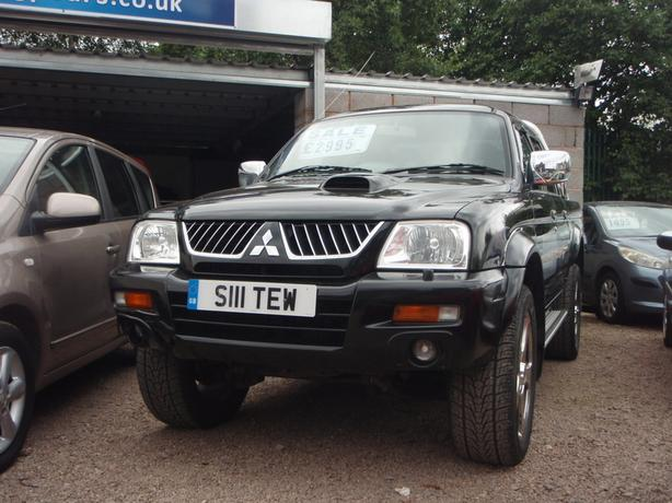 Mitsubishi L200 2.5 TD Warrior Limited Edition 4dr