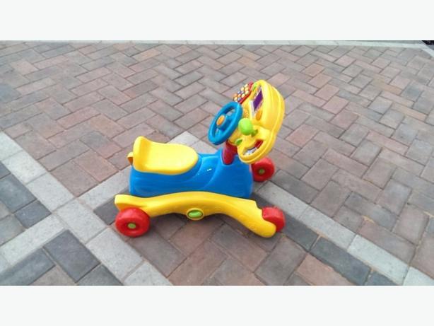"VTECH ""Grow and Go"" Ride On - Push Along Car/Rocker/Walker/Steering Wheel"