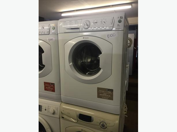 IMMACULATE 6 KG WASHING MACHINE- HOTPOINT AQUARIUS WITH GUARANTEE
