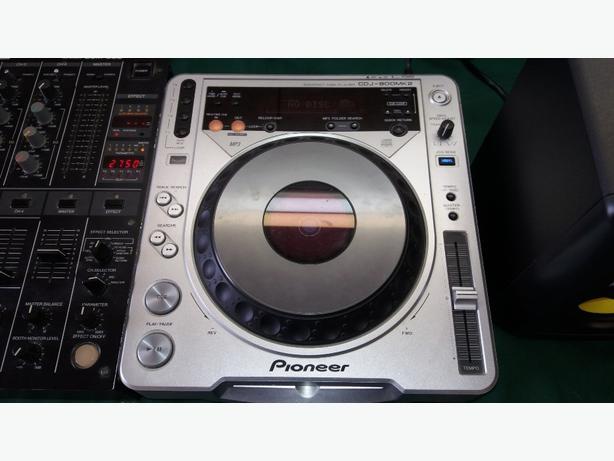 pioneer cdj 800mk2/pioneer djm 500