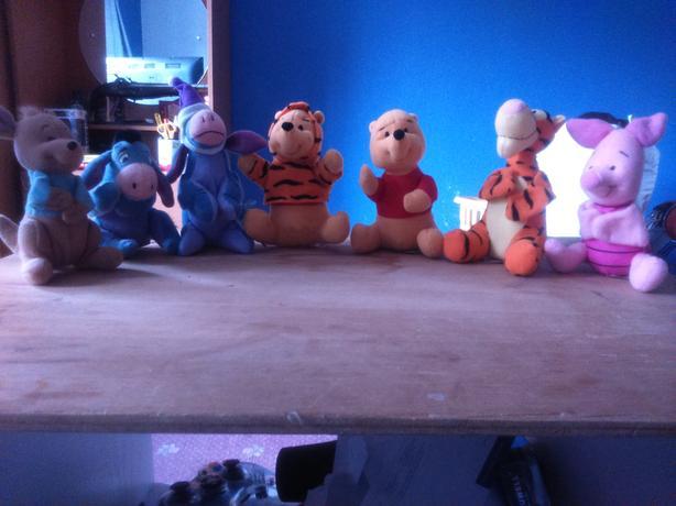 McDonald's Tigger, Pooh & Friends Toys