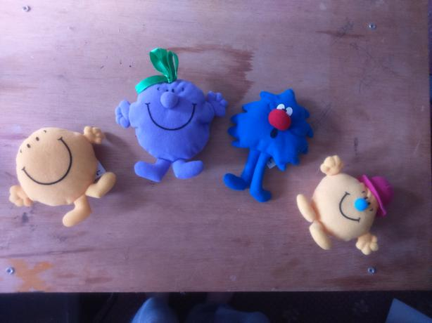 McDonald's Mr.Men Toys