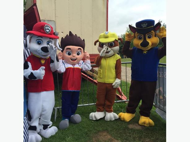 PAW PATROL MASCOTS FOR SALE BRAND NEW READY TO COLLECT