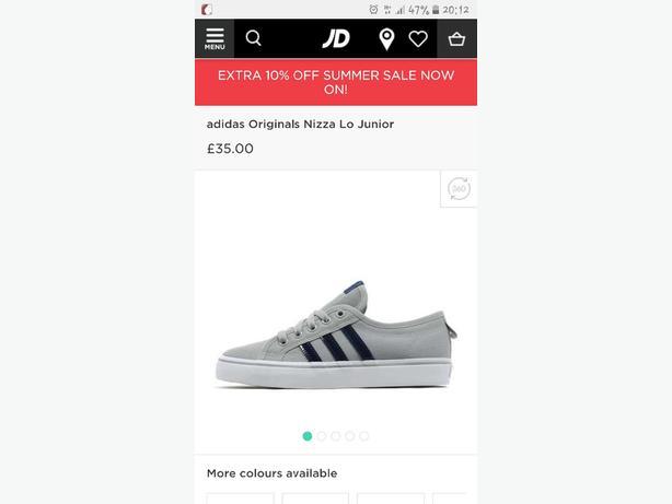 Adidas Nizza size 5.