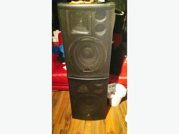 behringer pa subs x2 b15.20s