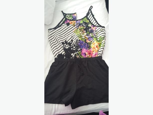 girls river island playsuit