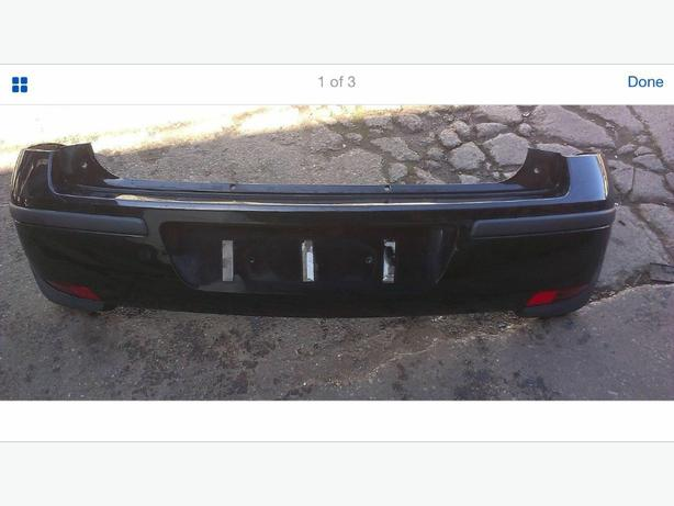back bumper for a corsa c black