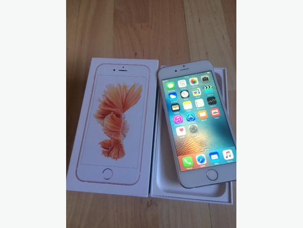 iphone 6 16gb refurbised as new rose gold( immaculate condition)