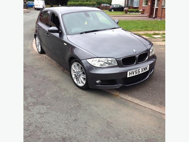 BMW 1 SERIES 118D M SPORTS 2006 55 PLATE £2495 ono